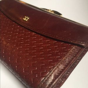 Vintage Leather Wallet - Trentina by Bosca